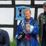 Pięcioro uczestników pleneru fotograficznego