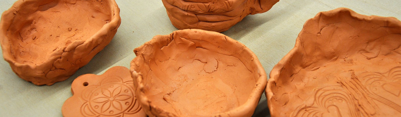 fragment glinianej miski