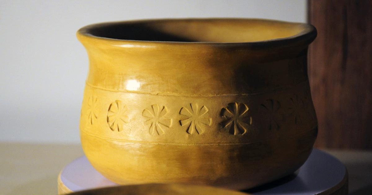 kociołek ceramiczny